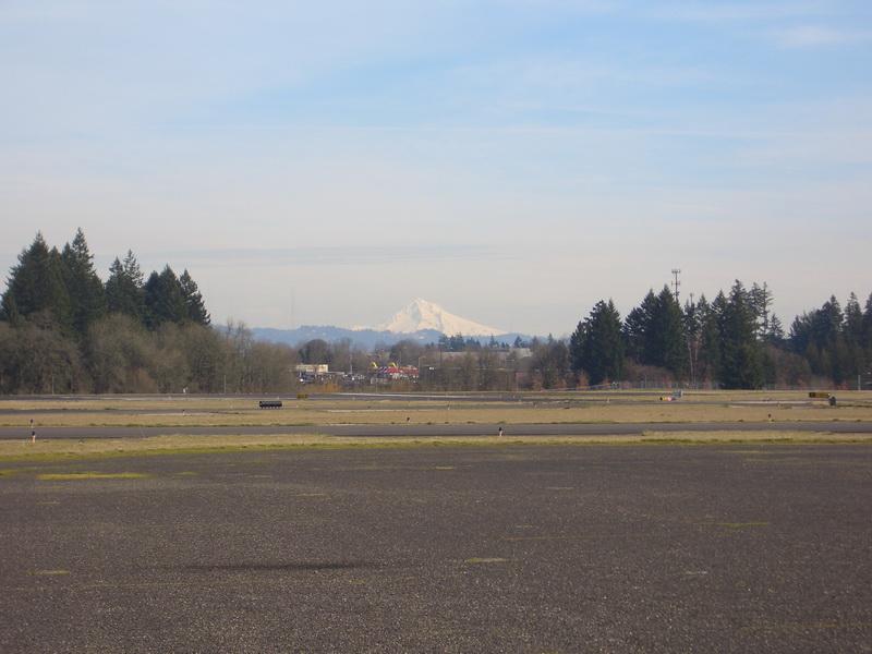 Mount Hood im Hintergrund.