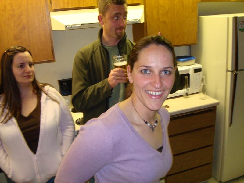 Pama, Torsten und Sandra auf meiner Feier zum Privatpiloten
